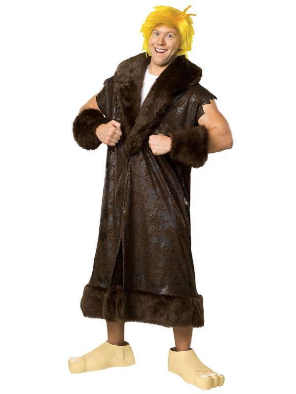 Barney Rubble Men's Flintstones Licensed Plus Size Costume