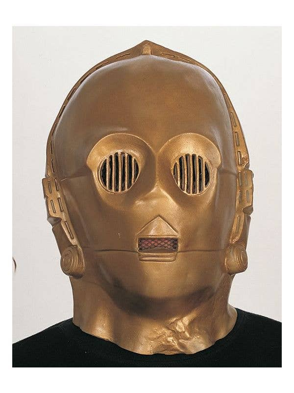 Star Wars C3po Mask Gold C3po Deluxe Star Wars Mask