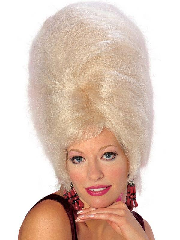 Tall Blonde Beehive Wig for Women