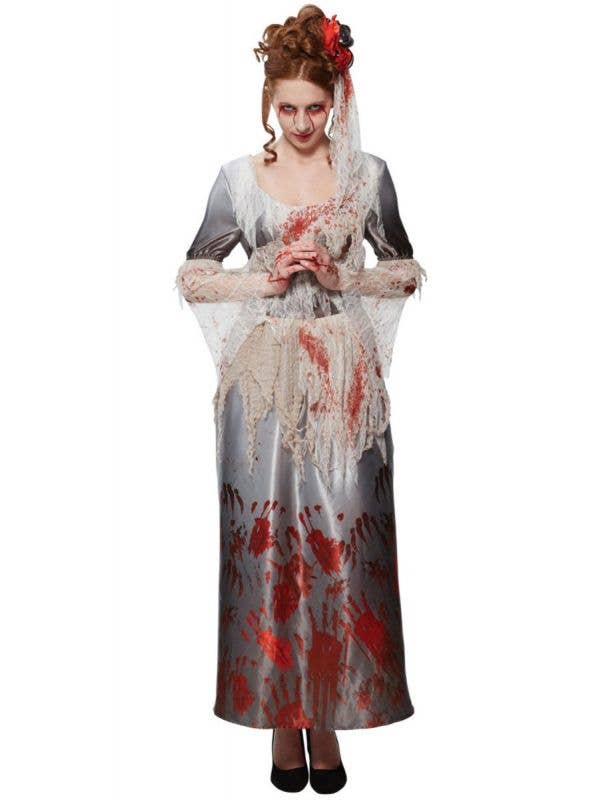 Rubies Bloody Hands Women's Zombie Halloween Fancy Dress Costume - Main Image