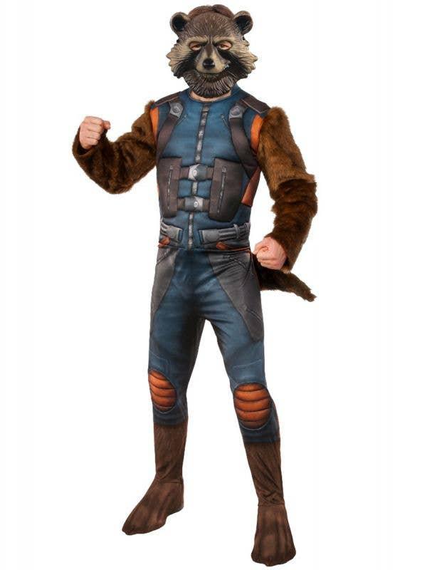 Deluxe Rocket Raccoon Men's Guardians of the Galaxy Costume