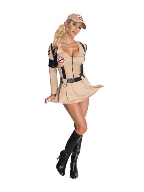 Adult Ghostbusters Suit Halloween Film Fancy Dress Costume