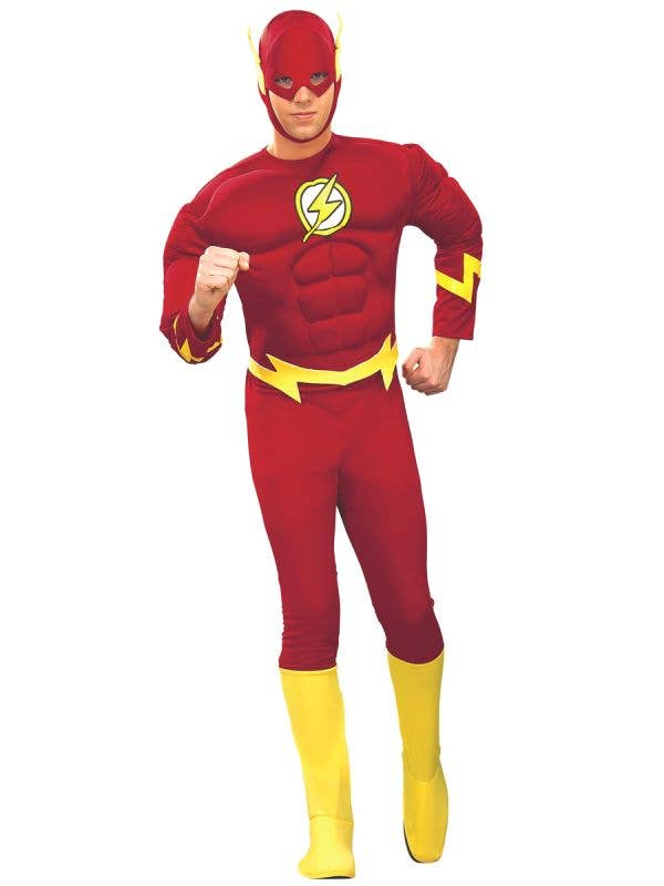 The Flash Adults Dress Up Costume - Main Image