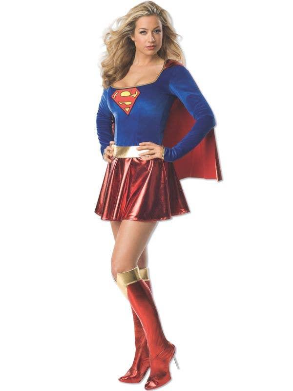 DC Superhero Supergirl Sexy Women's Costume Main Image