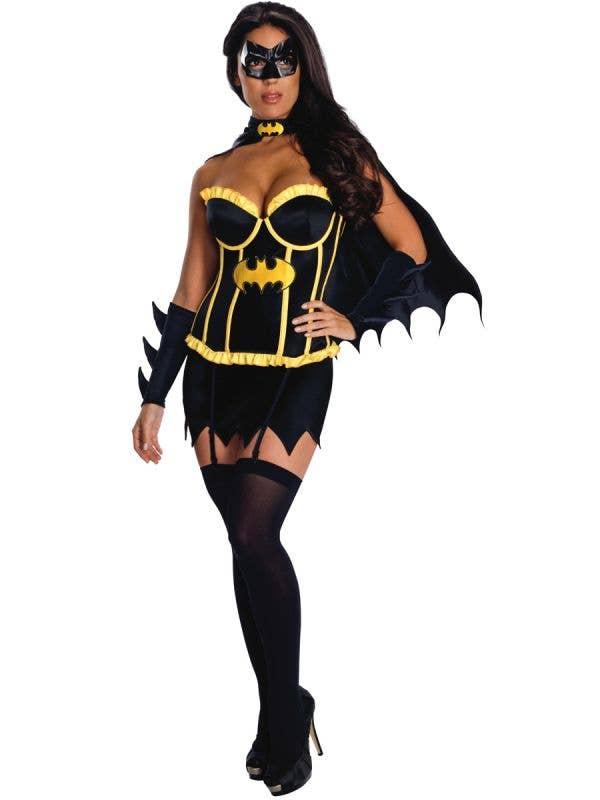 Womens Sexy Batgirl Costume - Main Image