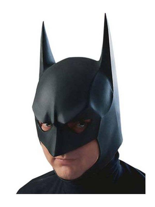 Adult Batman Full Mask Licensed Fancy Dress DC Comics Dark Knight Accessory New