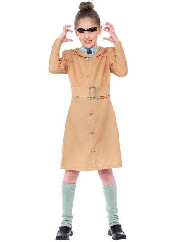 Miss Trunchbull Girls Matilda Roald Dahl Book Week Costume Front Image