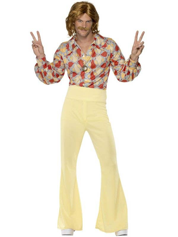 Men's Groovy 70s Disco Guy Dress Up Costume - Main Image