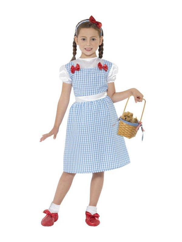 Wizard of Oz Girl's Dorothy Costume Main View