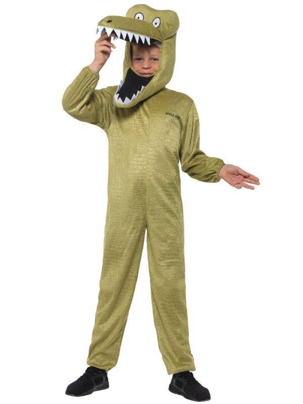 The Enormous Crocodile Boys Roald Dahl Book Week Costume Alternative Front Image