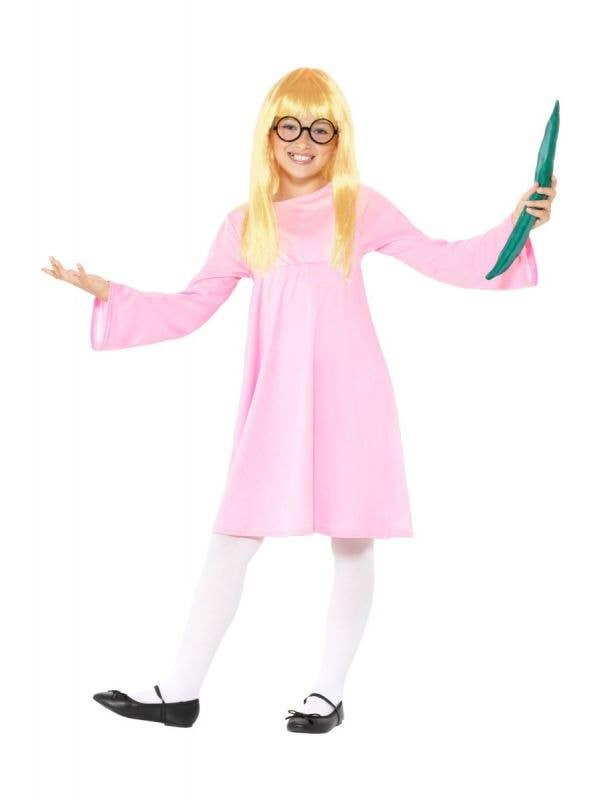 Girls BFG Sophie Roald Dahl Book Week Costume Front Image