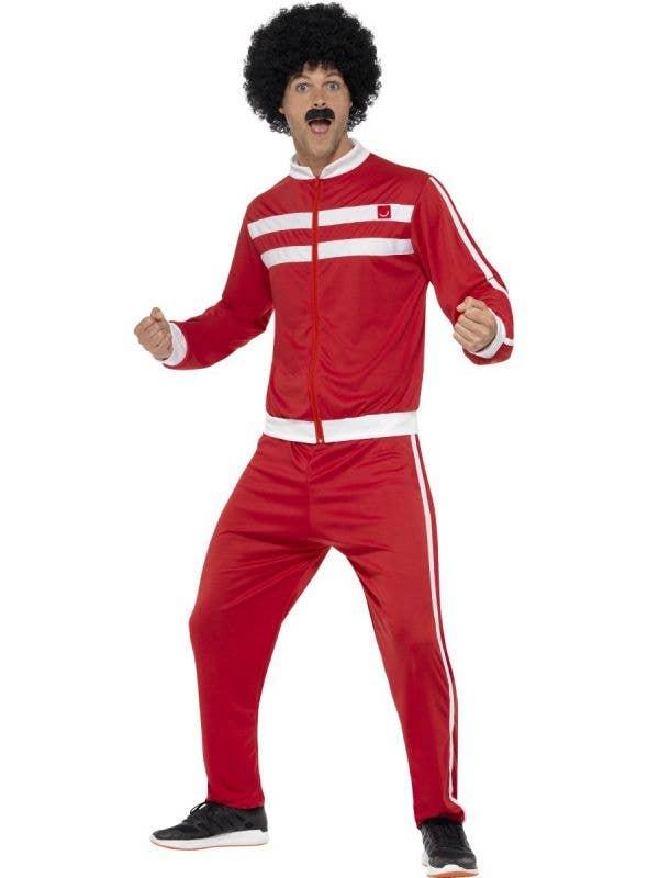 Men's Scouser Tracksuit British Liverpool Chav Costume Main Image