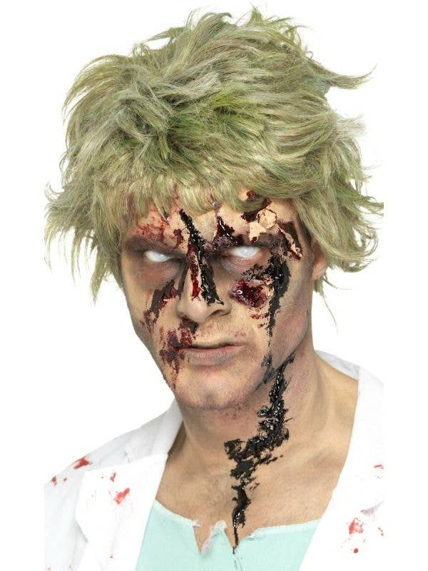 Realistic Thick Black Zombie Scab Blood Halloween Special FX Makeup