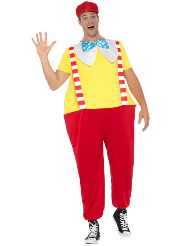 Adult's Tweedledee or Tweedledum Alice in Wonderland Fancy Dress Costume Front View 1
