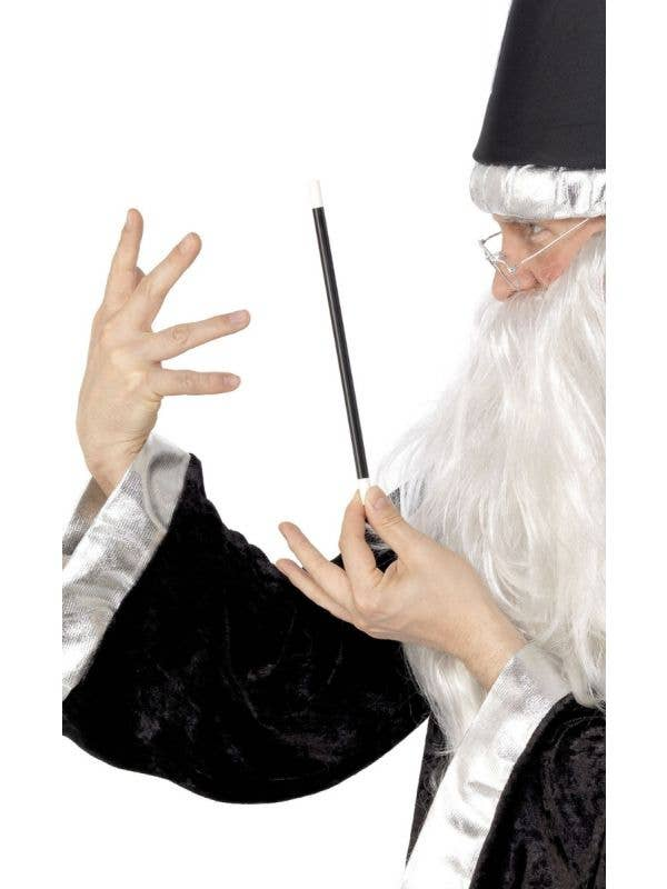 Novelty Classic Black Magician Wand Costume Accessory