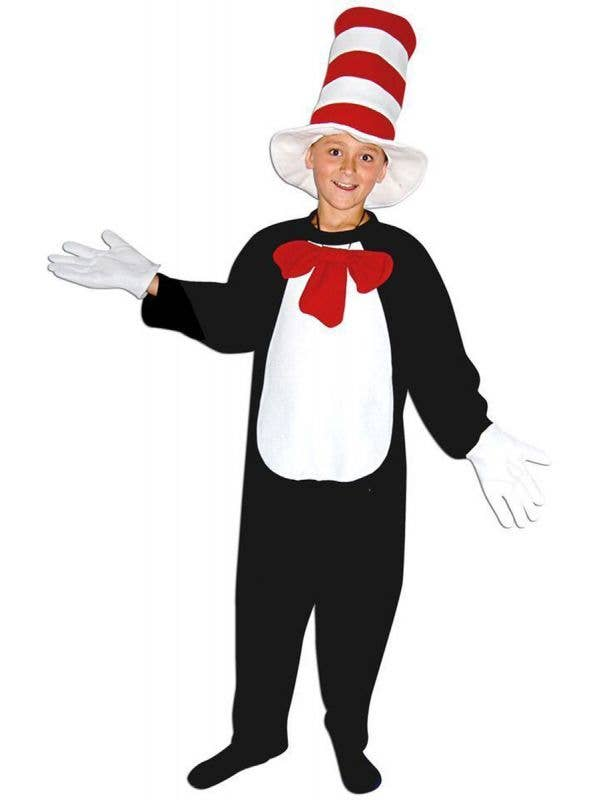 Dr Sues Boys Cat In The Hat Book Week Costume