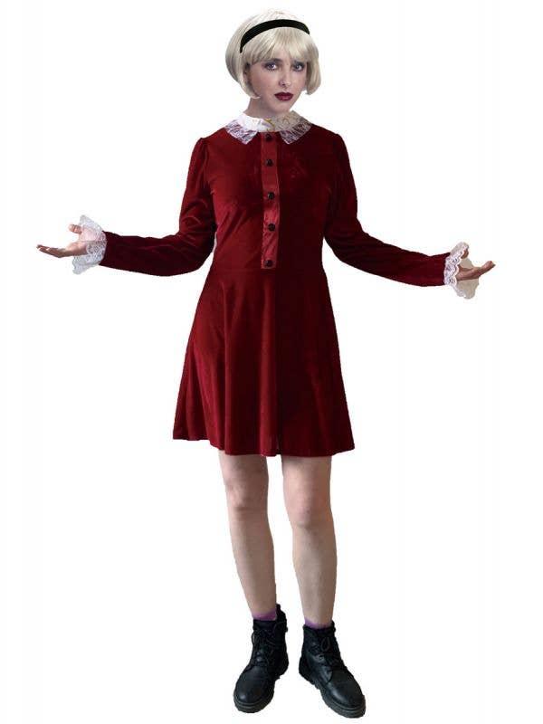 Women's Red Sabrina Teenage Witch Costume