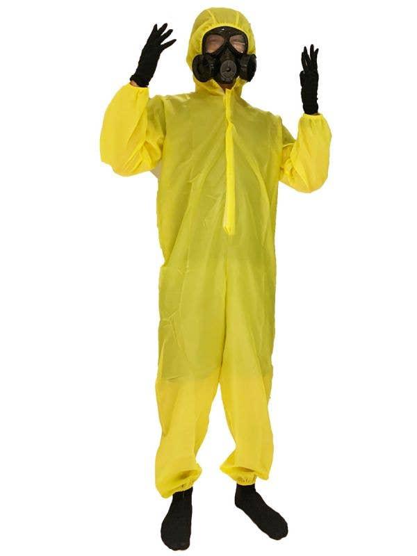 Men's Yellow Hazmat Suit Costume