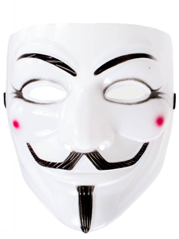 V for Vendetta Guy Fawkes Anonymous Costume Mask