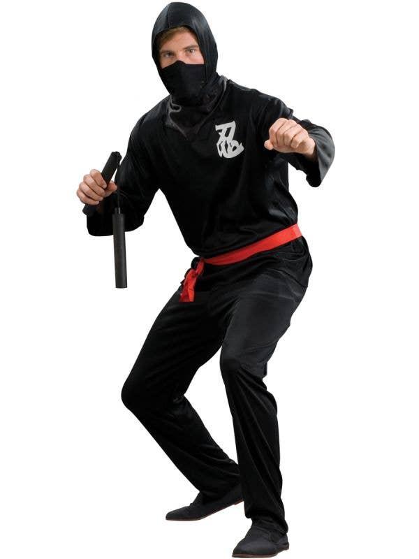 Plus Size Japanese Ninja Men's Costume