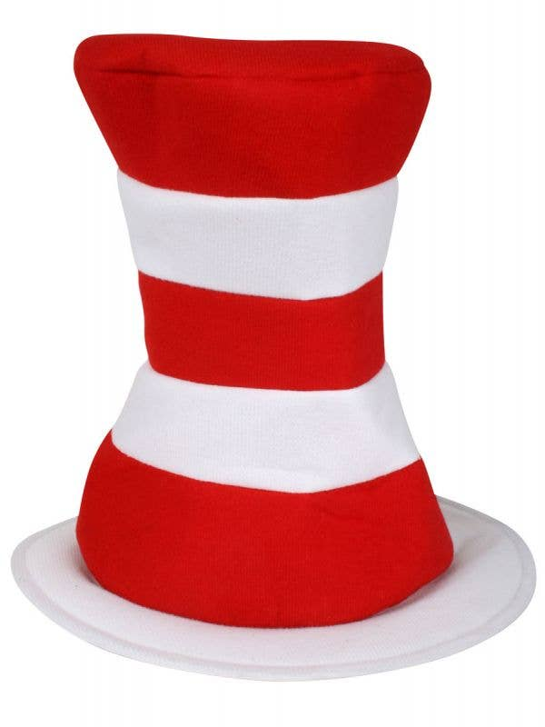 Red and White Striped Cat in the Hat Costume Hat