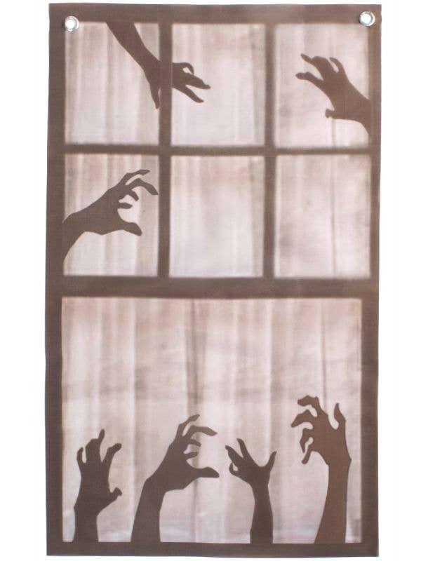 35 x 55cm Hanging Scary Hands Window Halloween Decoration