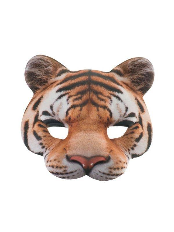 Kids Book Week Tiger Face Jungle Mask Costume Accessory Main Image