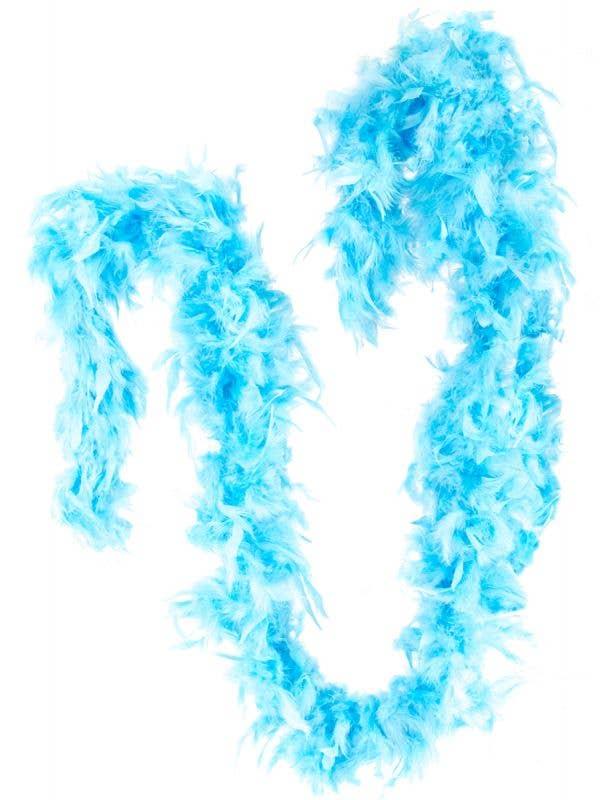 Light Blue Fluffy Feather Boa