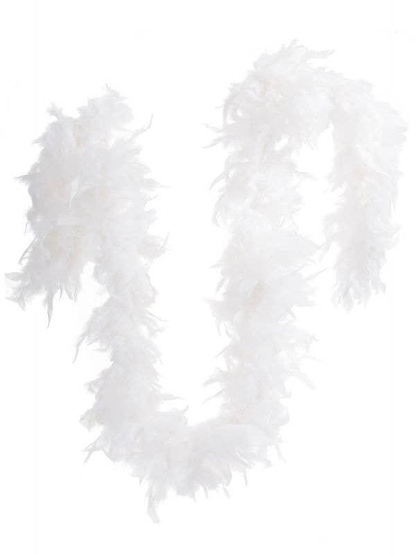 White Fluffy Feather Boa