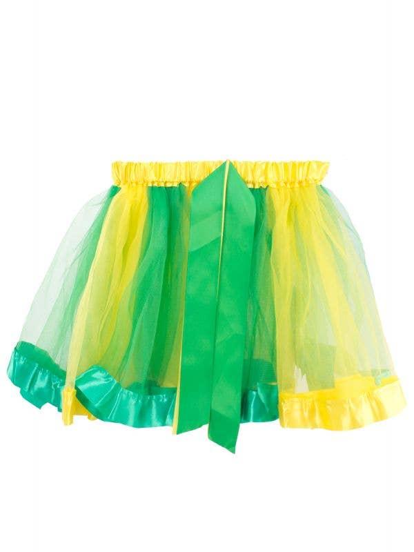 Green and Gold Tutu Skirt for Women