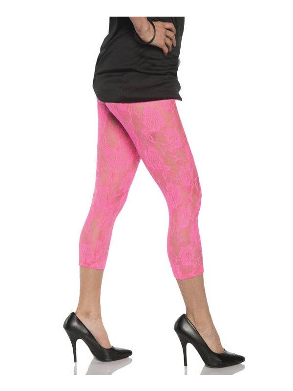 Womens 80s Style Neon Tights