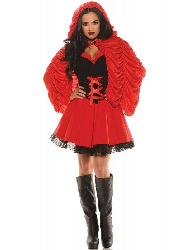 Womens Sexy Little Red Riding Hood Costume - Main Image
