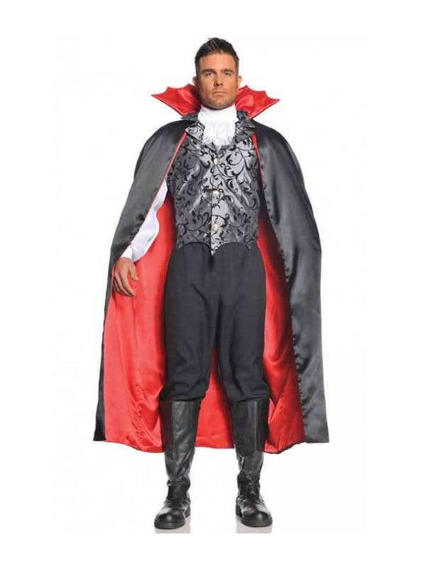 Adults Pirate Shirt Black Ruffle Front Halloween Mens Fancy Dress Vampire New