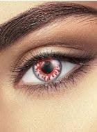 Crazy Blood Splat Patterned Daily Contact Lenses