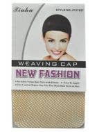 Adults Tan Open End Wig Cap Costume Accessory Image