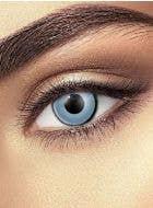 Zombie Grey Single Wear Halloween Contact Lenses