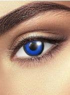 Blue Tinkerbell contact lenses