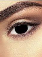 Black out mini sclera Halloween coloured contact lenses