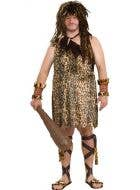 Macho Cave Man Plus Size Stone Age Costume