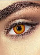 Crazy Clown Red And Orange 90 Day Wear Contact Lenses By Funky Vision - View 1
