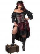 Pirate Wench Plus Size Women's Fancy Dress Costume
