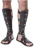 Brown Gladiator Men's Fancy Dress Costume Sandals