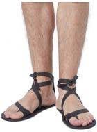 Strappy Men's Roman Dress Up Costume Sandals
