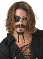 The Rogue Plaited Pirate Goatee and Moustache