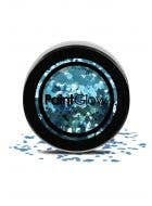 Chunky Loose Sparkly Blue Glitter For Face Body and Hair