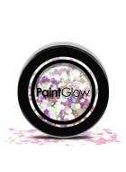Chunky Loose Pink and White Glitter For Face Body and Hair