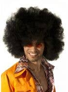 Giant Black Afro Motown Costume Wig