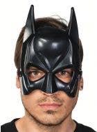 Batman Men's Black Costume Mask