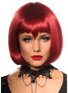 Eva Halloween Deluxe Red Bob Wig