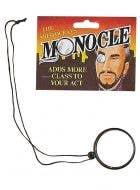 English Gentleman Novelty Costume Monocle
